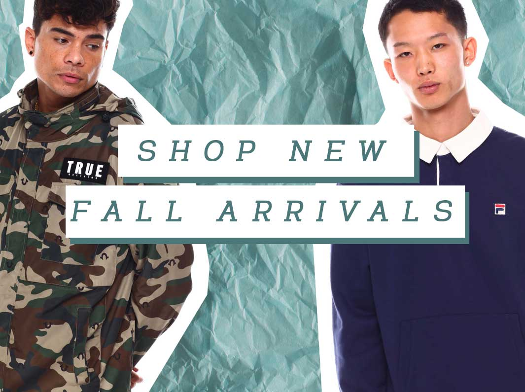 Shop New Arrivals for the Fall Season