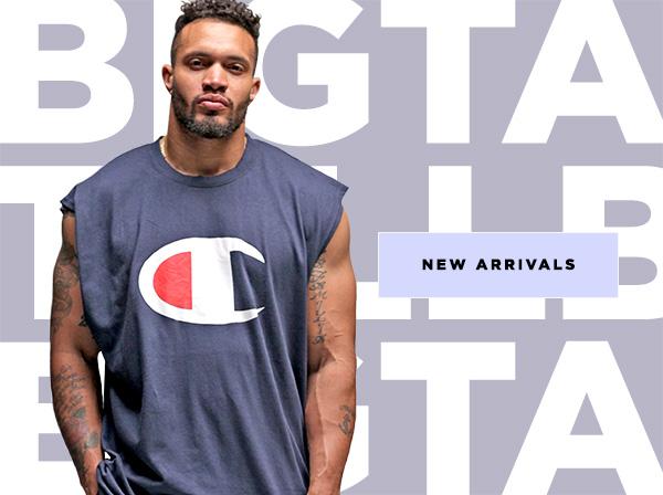 New Arrivals For Men's Big & Tall