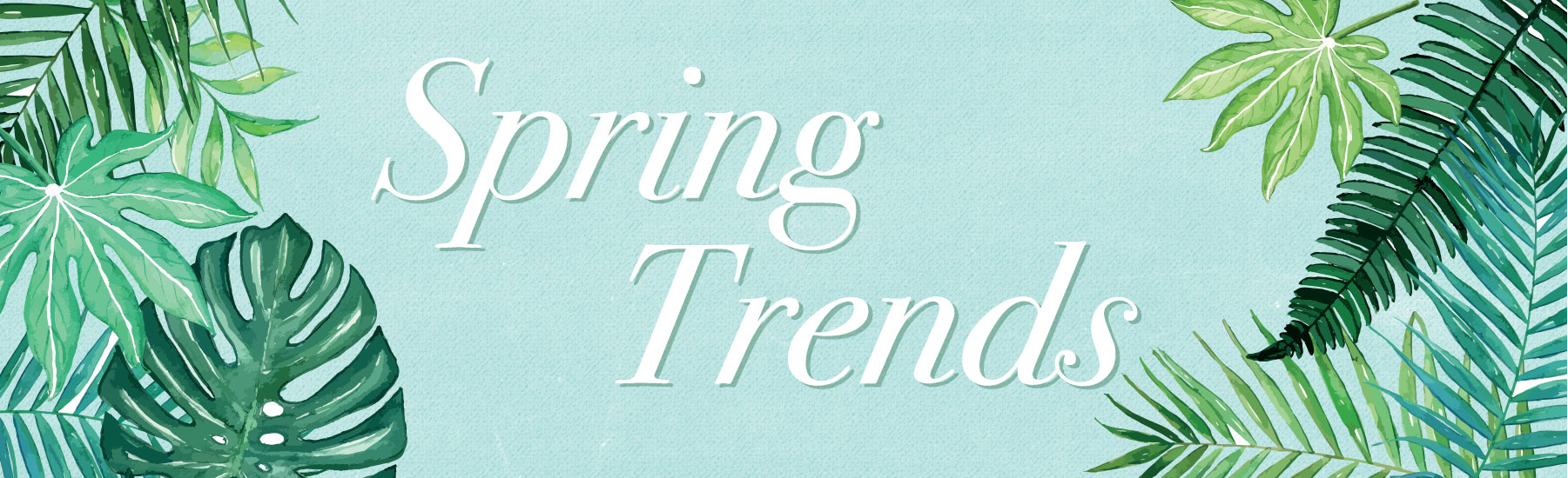 Spring Trends for Men