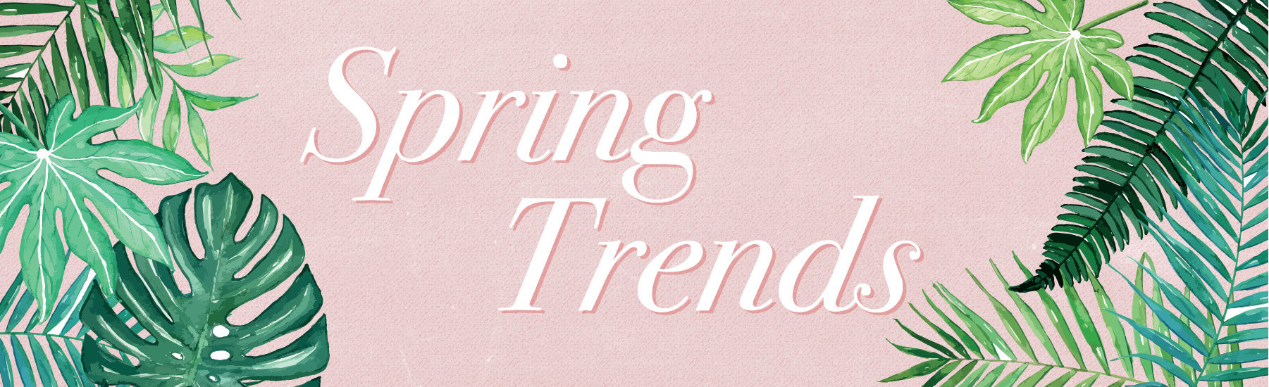 Spring Trends for Women