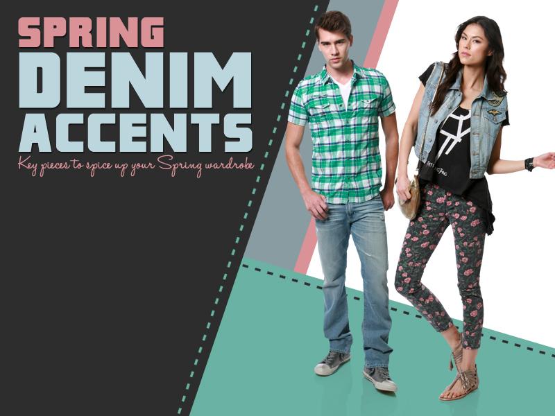 DJPremium's Spring Denim Accents