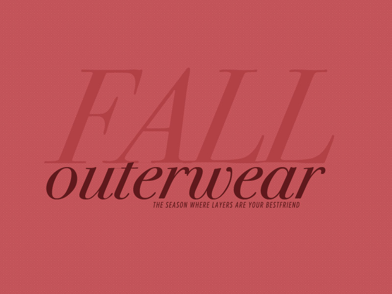 DJPremium's Fall Outerwear