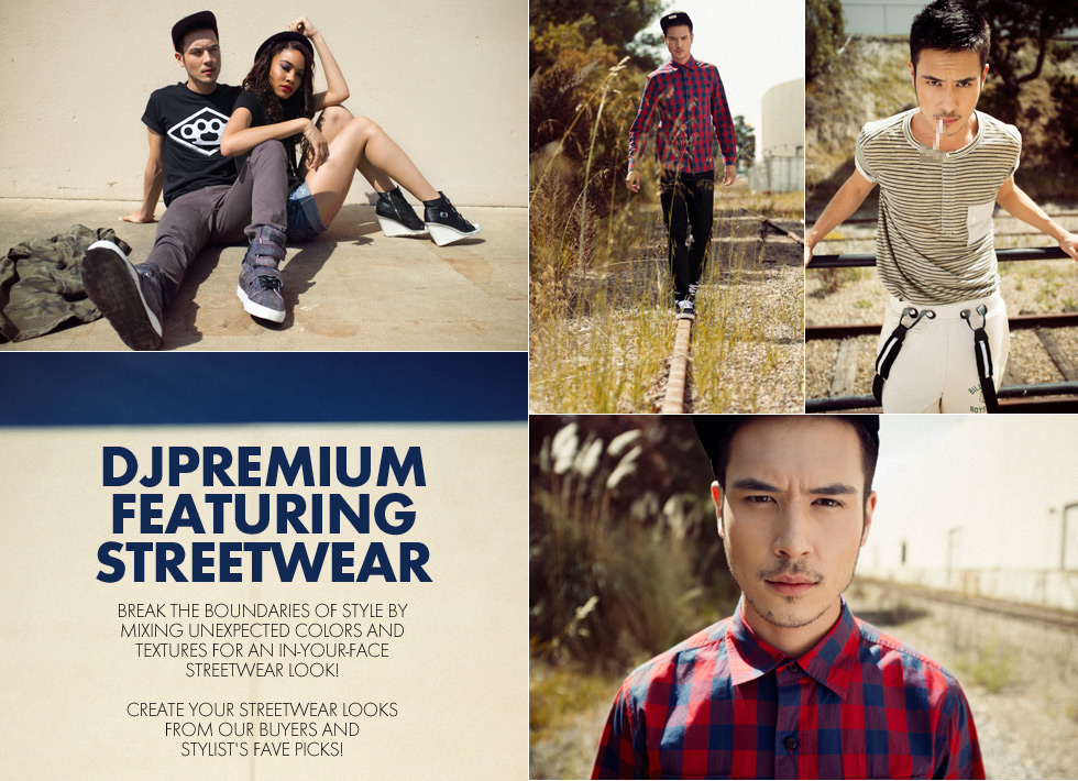 Mens Streetwear Lookbook
